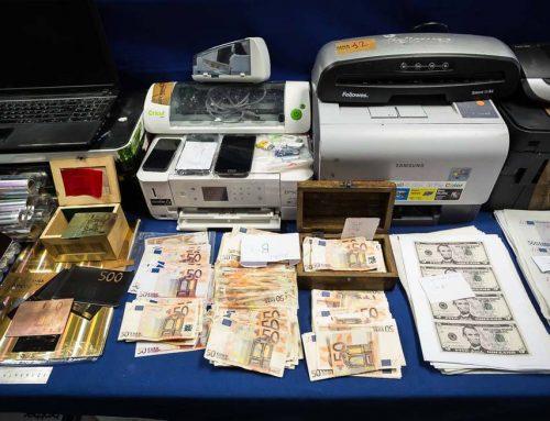 DESMANTELADA LA PRIMERA IMPRENTA DEDICADA A LA FALSIFICACIÓN DEL NUEVO BILLETE DE 50 EUROS
