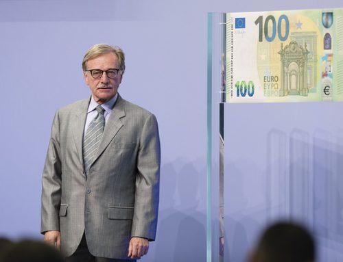 El BCE PRESENTA LOS NUEVOS BILLETES DE 100€ Y 200€