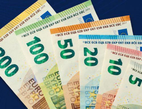 En el primer semestre de 2019 se retiraron de la circulación 251.000 billetes falsos en euros