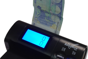Detector de billetes falsos Secureuro Plus